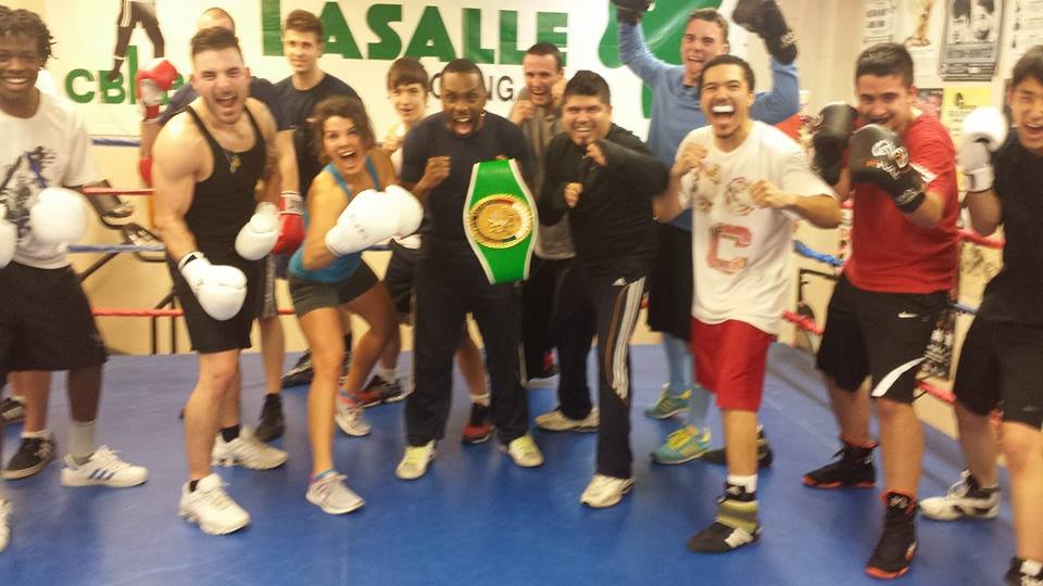 Champion Roody Pierre-Paul au club de boxe lasalle